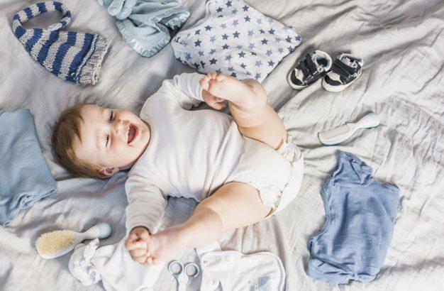 como vestir o bebê