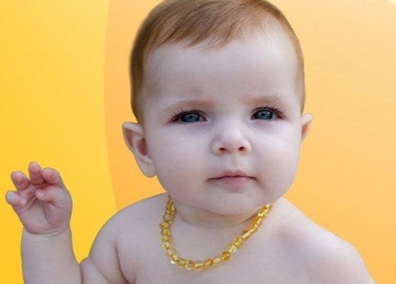 Benefícios do colar Ambar para Bebe e Crianças - Bebê de Pano | BLOG